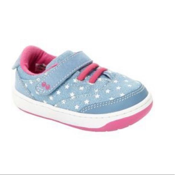 e86ec63d94cf Surprize by stride rite Hazel blue shoe